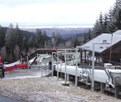 DKB Eiskanal Altenberg (Rennschlitten- und Bobbahn)