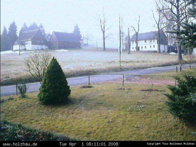 Wetter am 01.04.2008 in Holzhau (Erzgebirge)