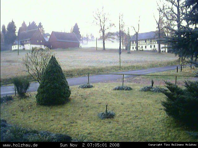 Wetter am 02.11.2008 in Holzhau (Erzgebirge)