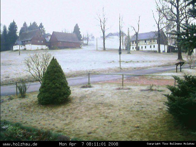 Wetter am 07.04.2008 in Holzhau (Erzgebirge)