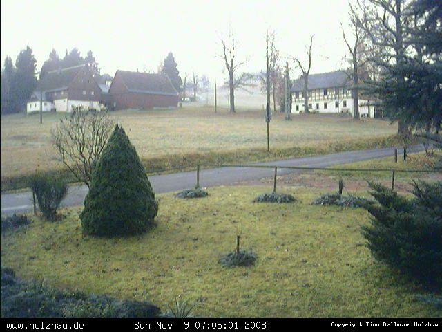 Wetter am 09.11.2008 in Holzhau (Erzgebirge)