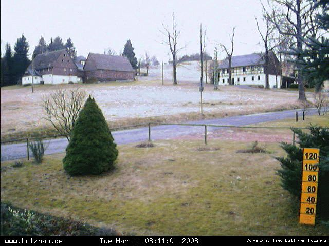 Wetter am 11.03.2008 in Holzhau (Erzgebirge)