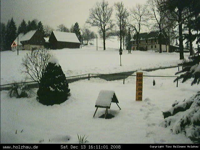 Wetter am 13.12.2008 in Holzhau (Erzgebirge)
