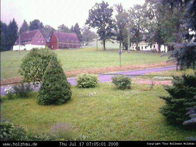 Wetter am 17.07.2008 in Holzhau (Erzgebirge)
