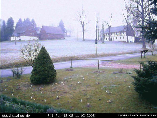Wetter am 18.04.2008 in Holzhau (Erzgebirge)