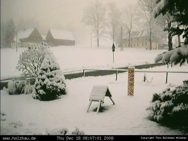 Wetter am 18.12.2008 in Holzhau (Erzgebirge)