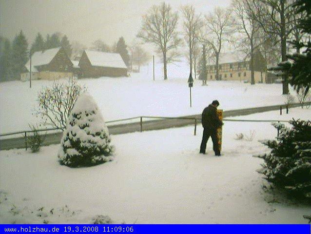 Wetter am 19.03.2008 in Holzhau (Erzgebirge)
