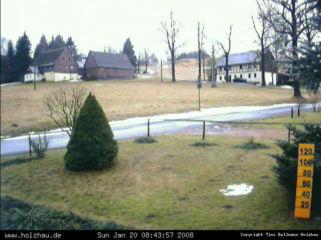 Wetter am 20.01.2008 in Holzhau (Erzgebirge)