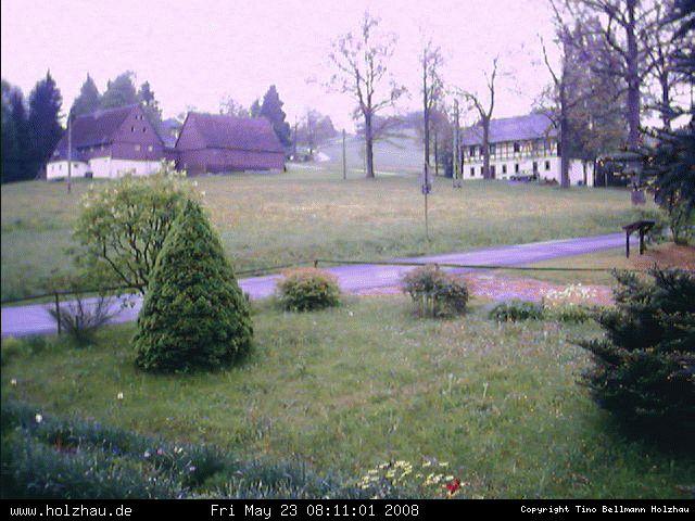 Wetter am 23.05.2008 in Holzhau (Erzgebirge)