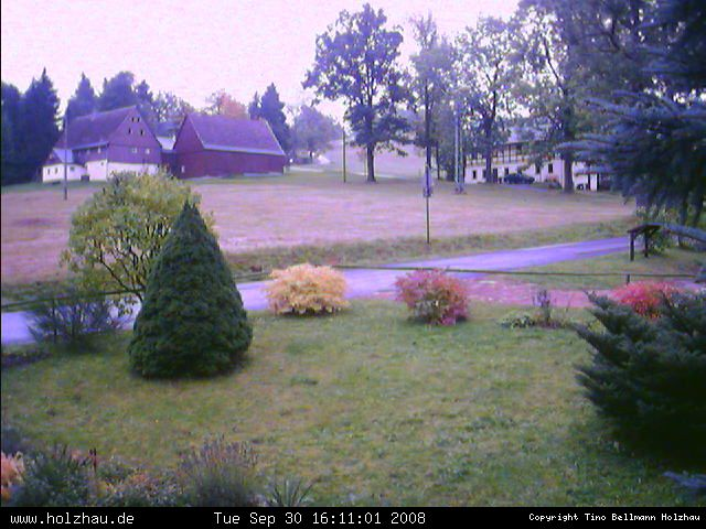 Wetter am 30.09.2008 in Holzhau (Erzgebirge)