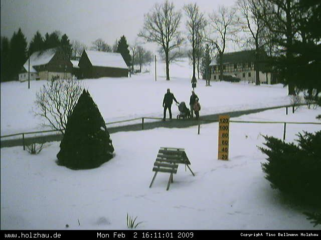 Wetter am 02.02.2009 in Holzhau (Erzgebirge)