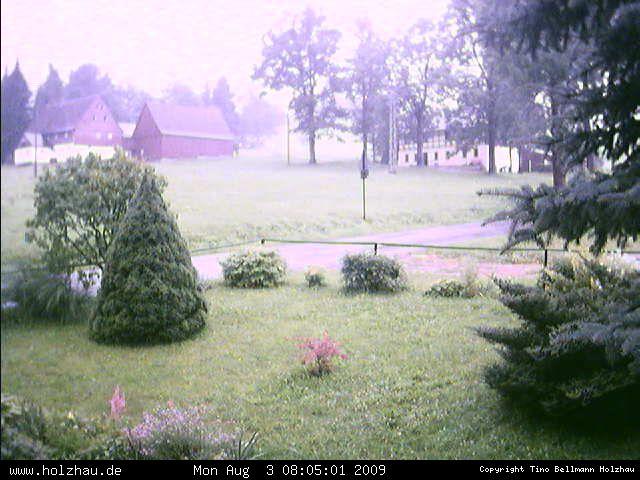 Wetter am 03.08.2009 in Holzhau (Erzgebirge)