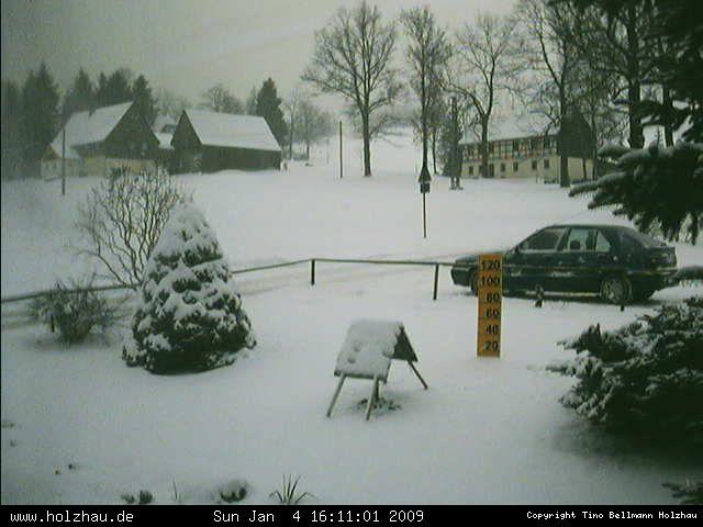 Wetter am 04.01.2009 in Holzhau (Erzgebirge)