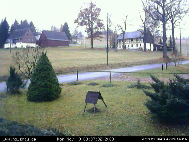 Wetter am 09.11.2009 in Holzhau (Erzgebirge)