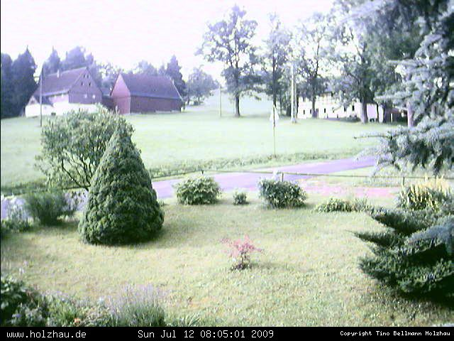 Wetter am 12.07.2009 in Holzhau (Erzgebirge)