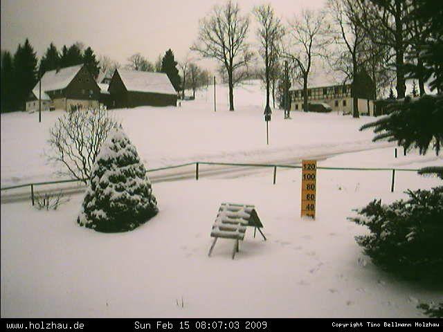 Wetter am 15.02.2009 in Holzhau (Erzgebirge)