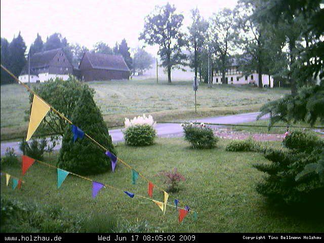Wetter am 17.06.2009 in Holzhau (Erzgebirge)