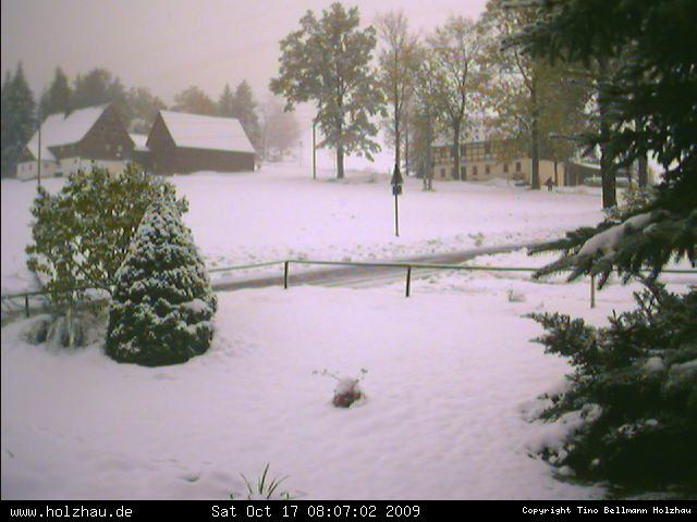 Wetter am 17.10.2009 in Holzhau (Erzgebirge)