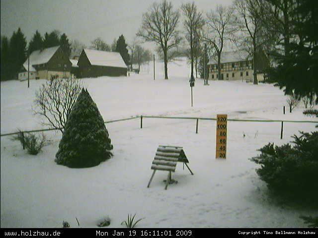 Wetter am 19.01.2009 in Holzhau (Erzgebirge)