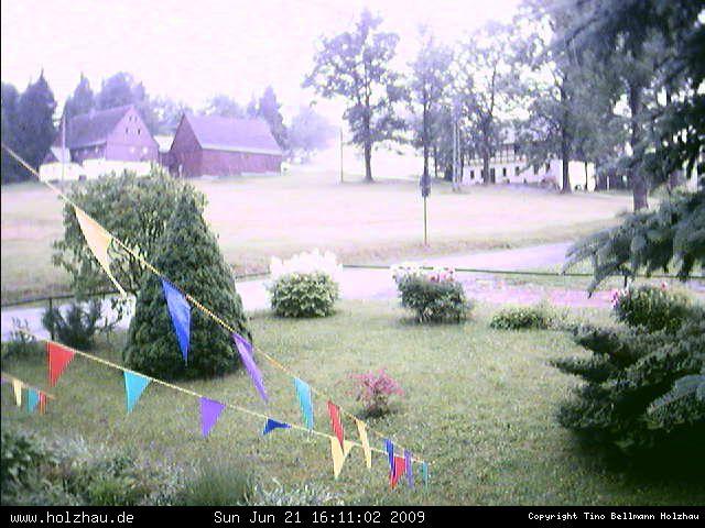 Wetter am 21.06.2009 in Holzhau (Erzgebirge)