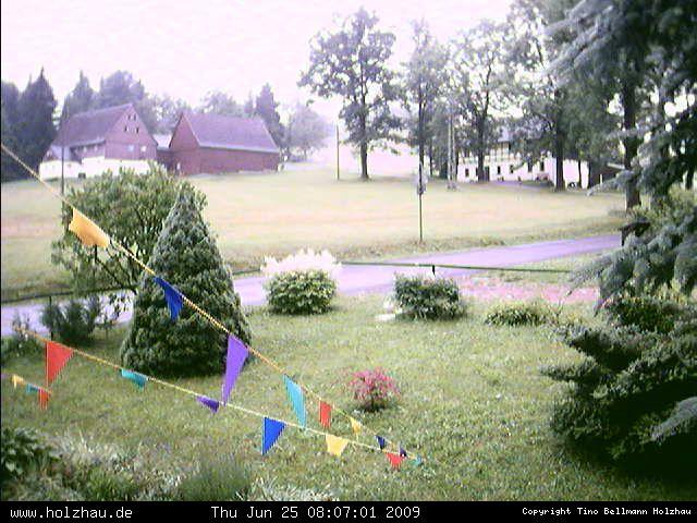 Wetter am 25.06.2009 in Holzhau (Erzgebirge)