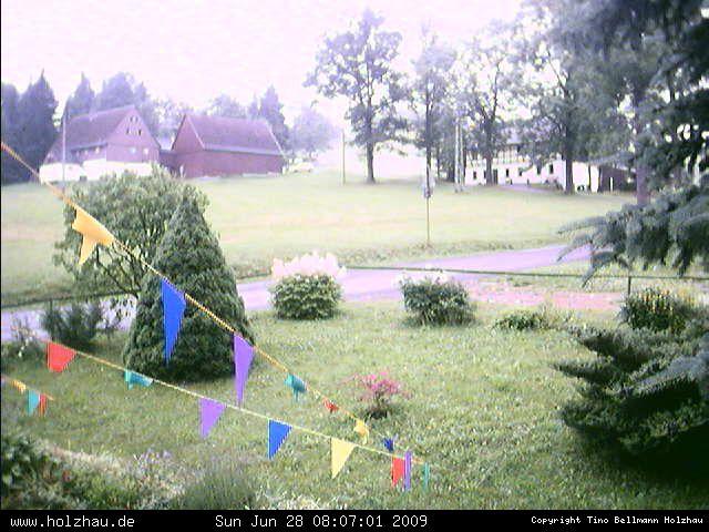 Wetter am 28.06.2009 in Holzhau (Erzgebirge)