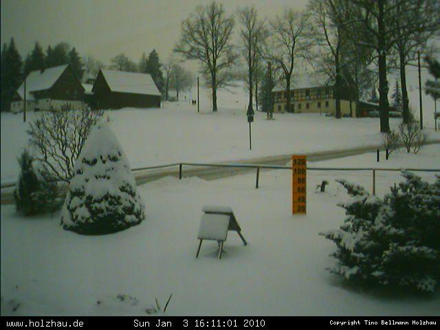 Wetter am 03.01.2010 in Holzhau (Erzgebirge)