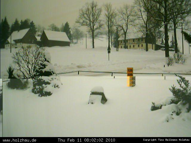 Wetter am 11.02.2010 in Holzhau (Erzgebirge)
