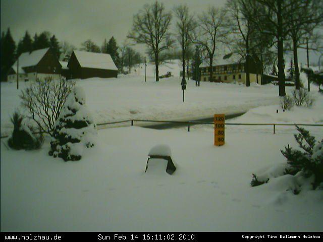 Wetter am 14.02.2010 in Holzhau (Erzgebirge)