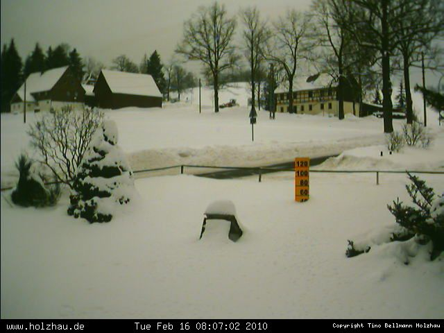 Wetter am 16.02.2010 in Holzhau (Erzgebirge)