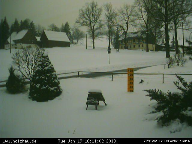 Wetter am 19.01.2010 in Holzhau (Erzgebirge)