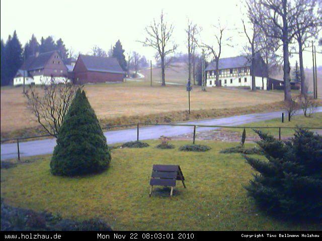 Wetter am 22.11.2010 in Holzhau (Erzgebirge)