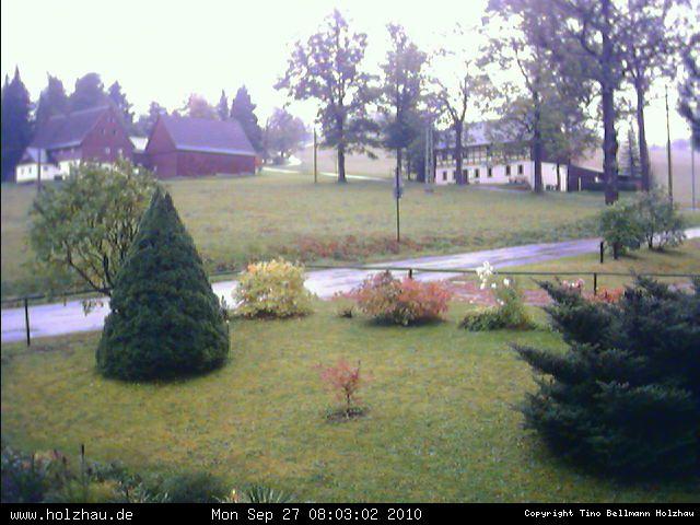 Wetter am 27.09.2010 in Holzhau (Erzgebirge)