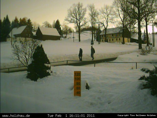 Wetter am 01.02.2011 in Holzhau (Erzgebirge)