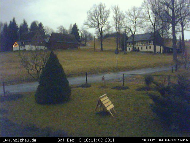 Wetter am 03.12.2011 in Holzhau (Erzgebirge)