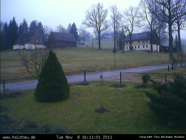 Wetter am 08.11.2011 in Holzhau (Erzgebirge)