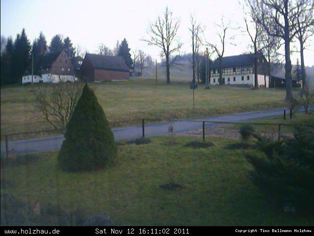 Wetter am 12.11.2011 in Holzhau (Erzgebirge)