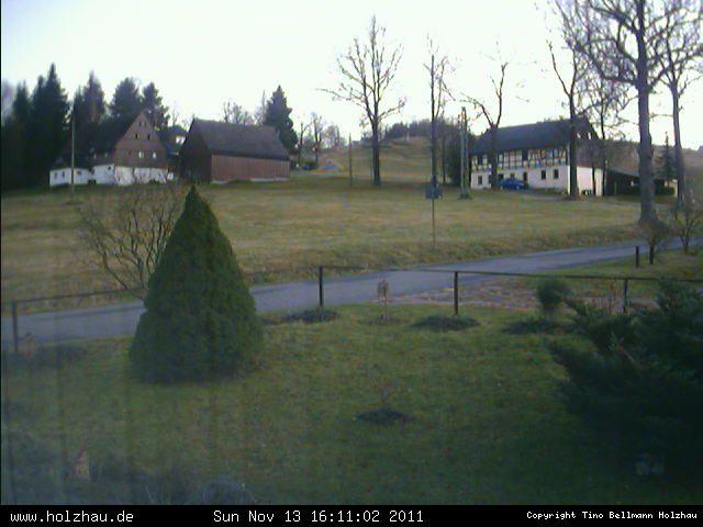 Wetter am 13.11.2011 in Holzhau (Erzgebirge)
