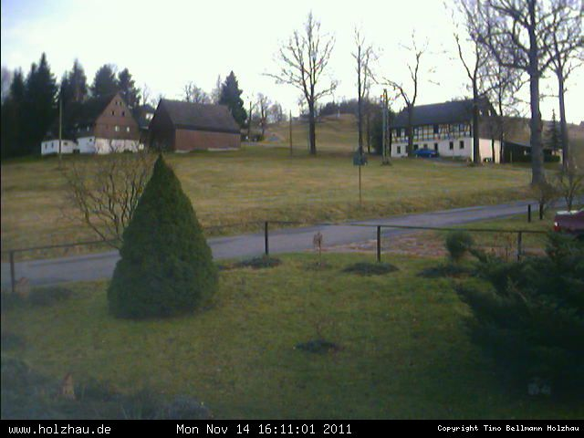 Wetter am 14.11.2011 in Holzhau (Erzgebirge)