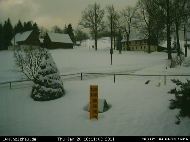 Wetter am 20.01.2011 in Holzhau (Erzgebirge)