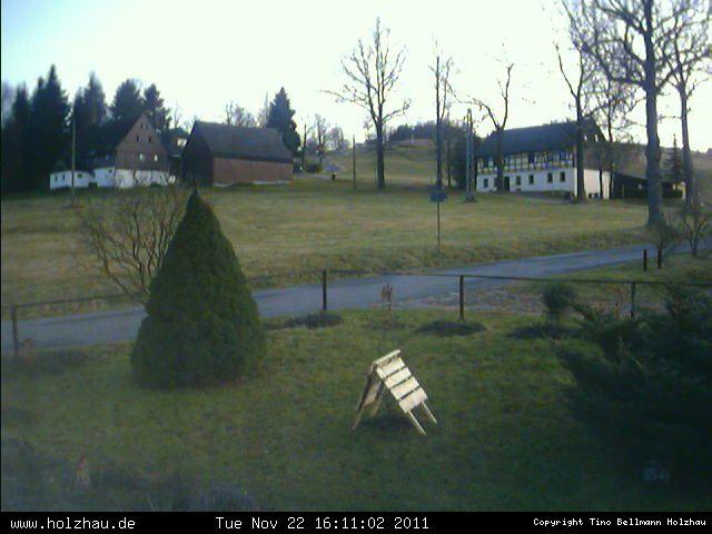 Wetter am 22.11.2011 in Holzhau (Erzgebirge)