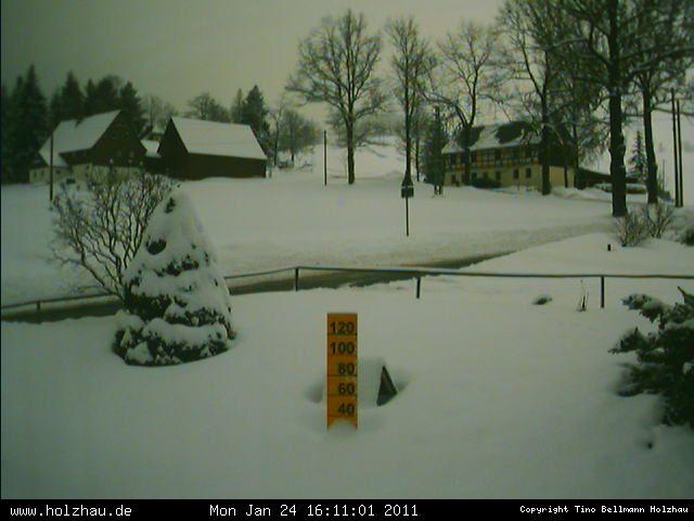 Wetter am 24.01.2011 in Holzhau (Erzgebirge)