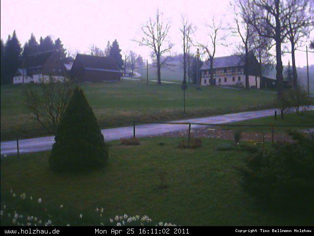 Wetter am 25.04.2011 in Holzhau (Erzgebirge)