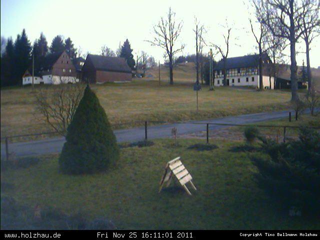 Wetter am 25.11.2011 in Holzhau (Erzgebirge)