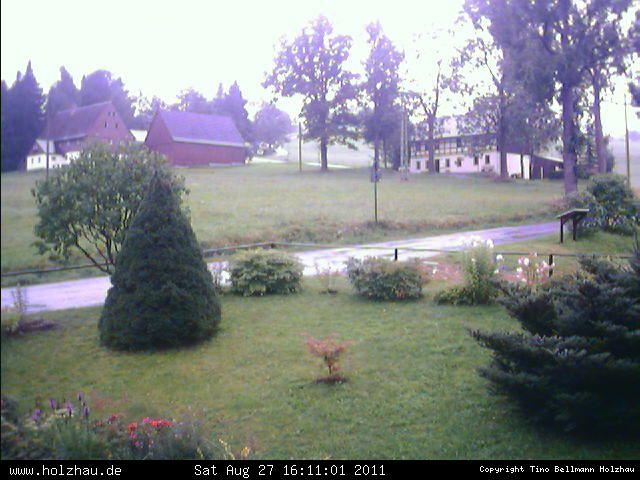 Wetter am 27.08.2011 in Holzhau (Erzgebirge)