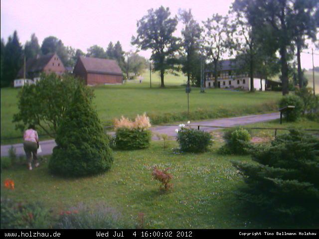 Wetter am 04.07.2012 in Holzhau (Erzgebirge)
