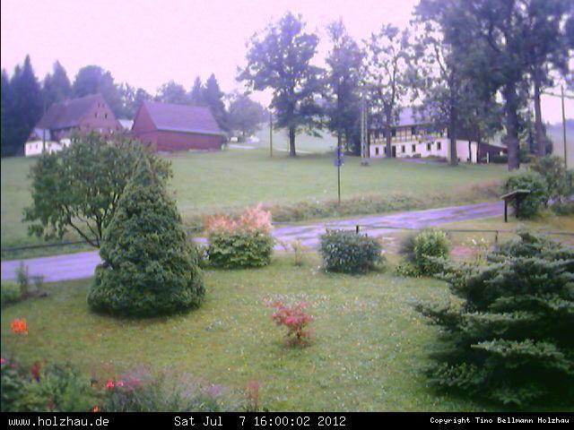 Wetter am 07.07.2012 in Holzhau (Erzgebirge)