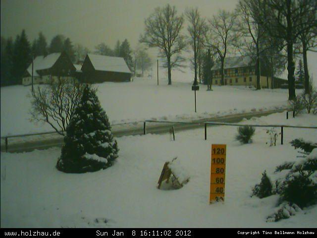 Wetter am 08.01.2012 in Holzhau (Erzgebirge)