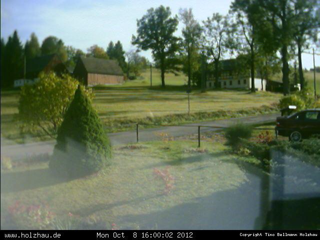 Wetter am 08.10.2012 in Holzhau (Erzgebirge)