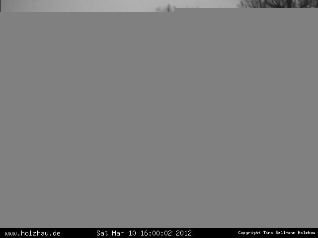 Wetter am 10.03.2012 in Holzhau (Erzgebirge)